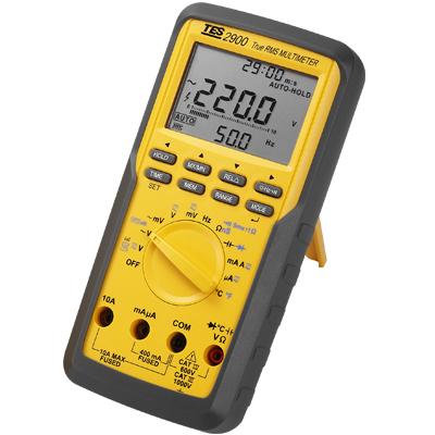 真有效值三用�表TES-2900